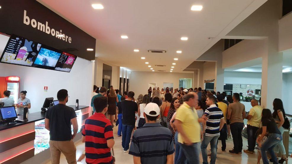 Circuito Cinema Parauapebas : Cinema art movie é inaugurado no karajás shopping em