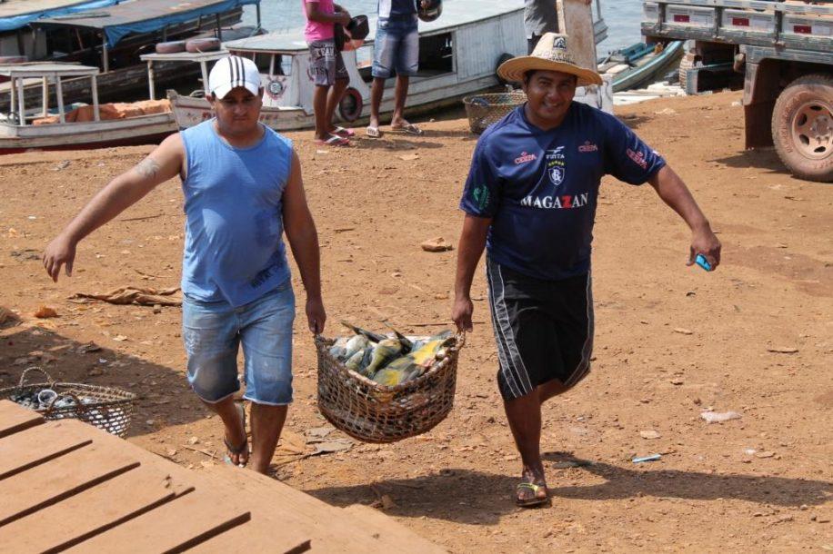 Pescadores KM11 Tucuruí