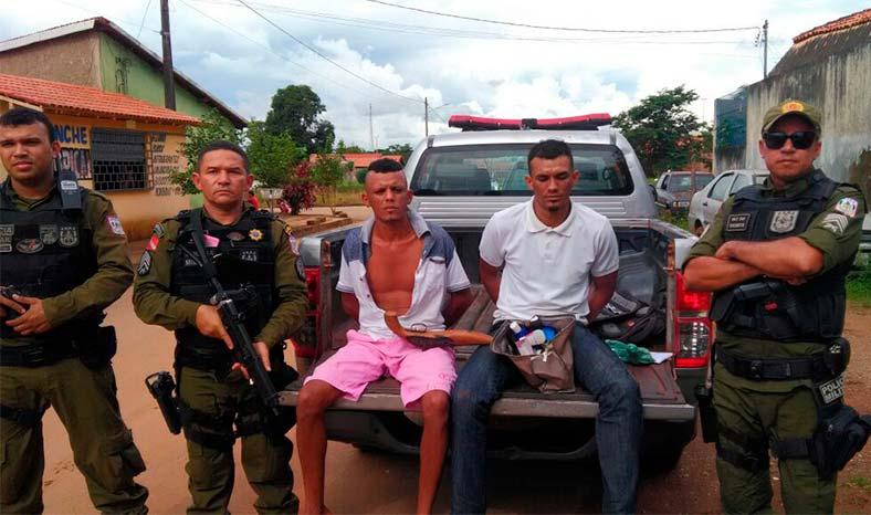 Irmãos-assaltantes-presos-Curionóplis