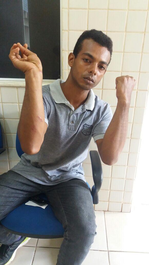 Ramon Silveira foi espancado em Parauapebas