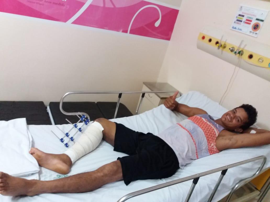 paciente vitima acidente de transito